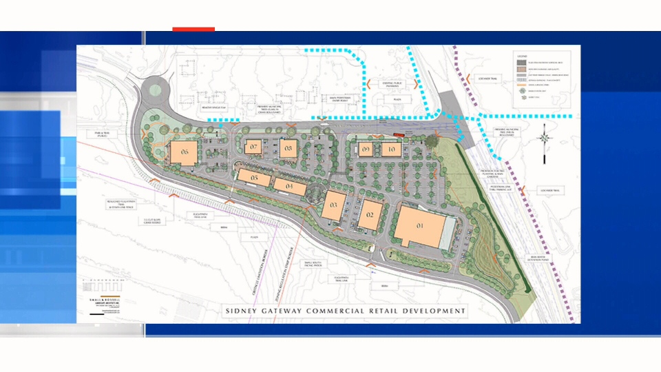 Plans for a proposed development at the Victoria Airport in Sidney, B.C. are shown. Tues., Jan. 12, 2016. (Courtesy Victoria Airport Authority)