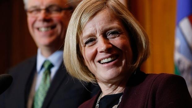 Alberta Premier Rachel Notley speaks