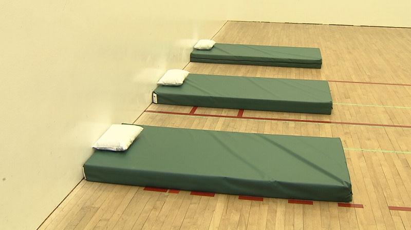 The B.C. Institute of Technology has set up a nap room for students to take a brief snooze.