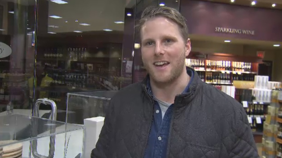 Grant Sceney, from the Fairmont Pacific Rim Hotel, speaks to CTV Vancouver, Jan. 14, 2016.