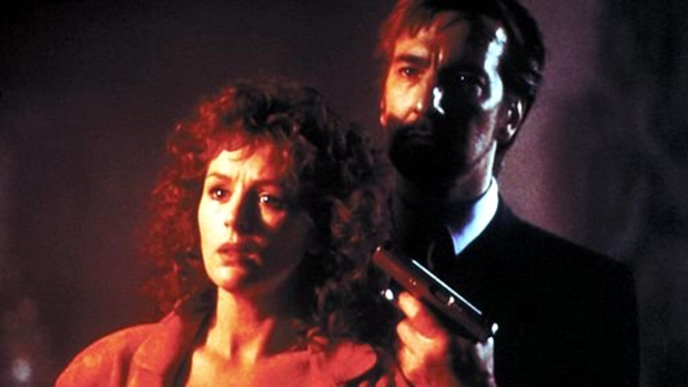 Still of Alan Rickman and Bonnie Bedelia in 'Die Hard'. (Twentieth Century Fox Film Corporation)