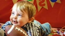 Ailing baby needs bone marrow transplant