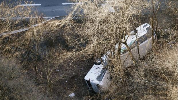 Japan ski bus crash