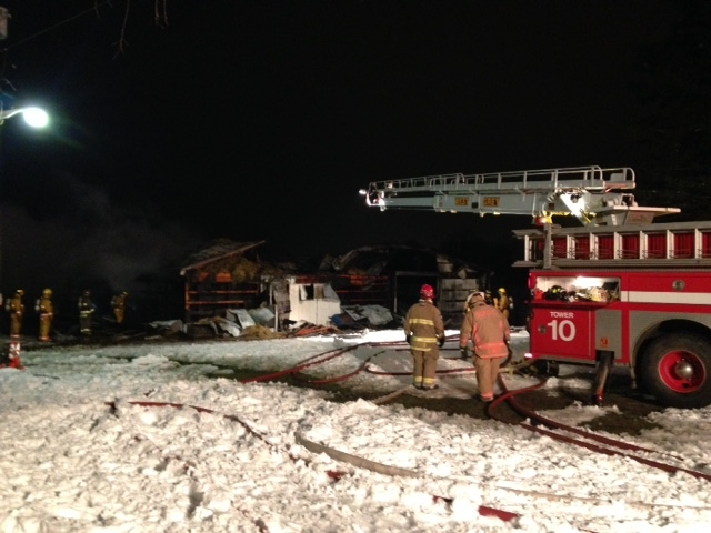 12 horses killed in Mount Forest-area barn fire   CTV News