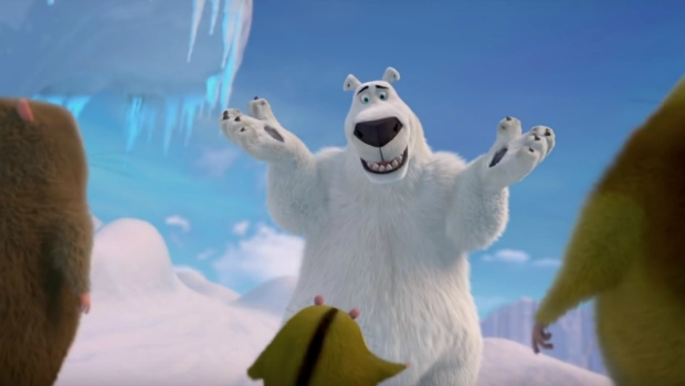 Rob Schneider voices Norm in 'Norm of the North.'