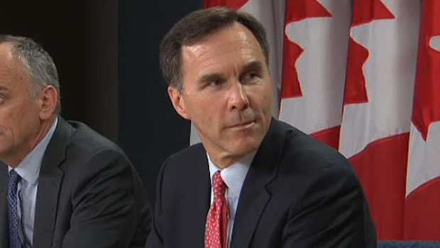 Federal Finance Minister Bill Morneau is in Calgary on January 15, 2016, speaking to students and industry leaders at the University of Calgary.
