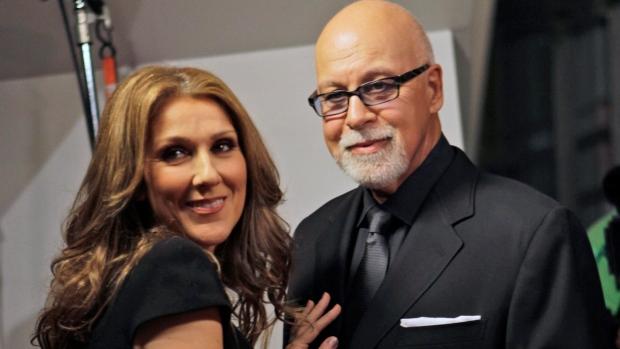 Celine Dion and Rene Angelil