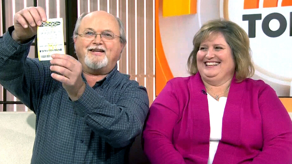 John and Lisa Robinson of Tennessee say they are one of three winners of the $1.6B Powerball win.