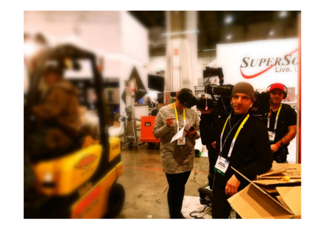 Avoiding forklifts at CES 2016