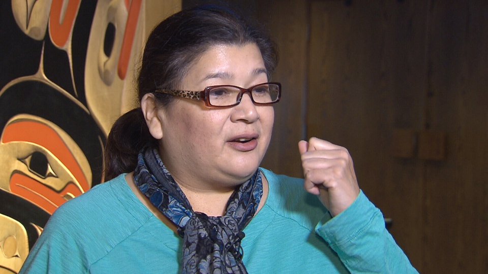 Rita Joe's daughter, Ann Joe, says her mother called the residential school system 'a prison.'