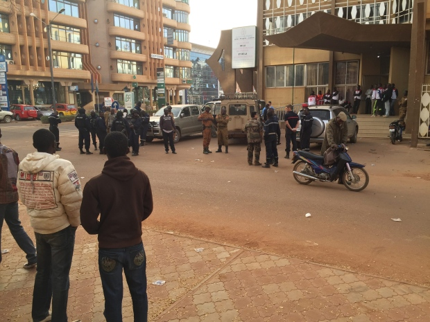 Burkina Faso hotel attacked by militants