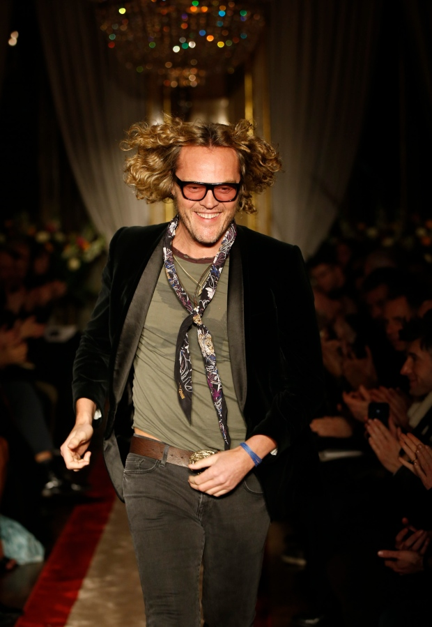 Peter Dundas at Milan Fashion Week