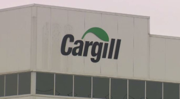 Cargill food processing plants in Guelph