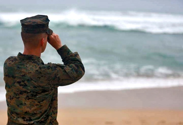 Search for missing Marines
