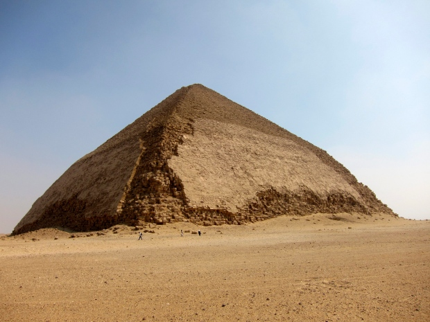 Bent Pyramid at Dahshur, Egypt