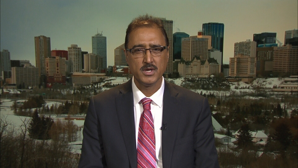Industry and Communities Minister Amarjeet Sohi speaks to CTV's Question Period on Jan. 17, 2016.