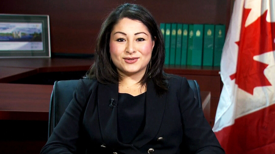 Democratic Institutions Minister Maryam Monsef speaks with CTV's Question Period on Jan. 17, 2016.
