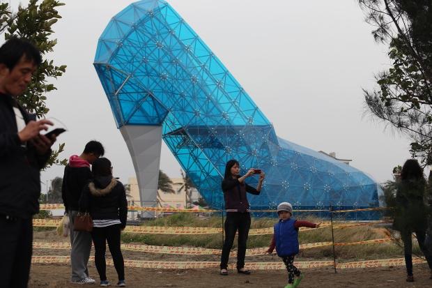 Taiwan's 'shoe church'