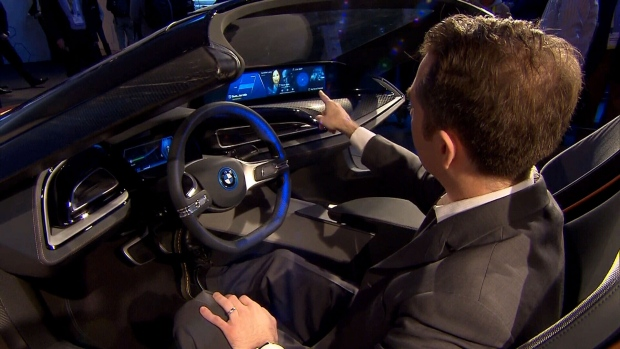 BMW's self-driving car