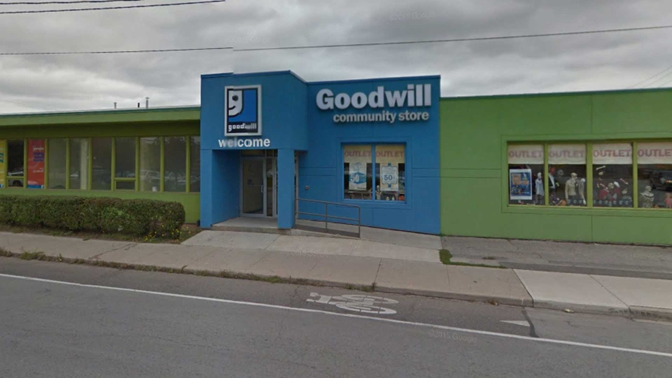 A Toronto Goodwill store is pictured in this Streetview image. (Google)