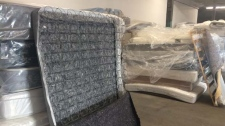 Mattress recycling facility