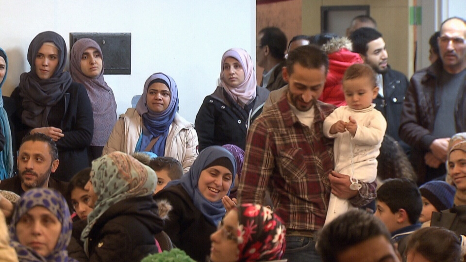 The high cost of Vancouver housing is slowing efforts to find permanent places for newly arrived Syrian refugees to live. Jan. 17, 2016. (CTV Vancouver).
