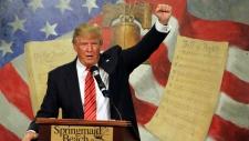 British politicians debate banning Trump