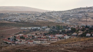 A general view of the Jewish settlement of Tekoa located southeast to the West Bank Palestinian city of Bethlehem, on Nov. 1, 2009. (Sebastian Scheiner / AP)