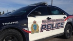 A vehicle from the traffic branch of the Waterloo Regional Police Service is pictured on Wednesday, Jan. 6, 2016. (Matt Harris / CTV Kitchener)