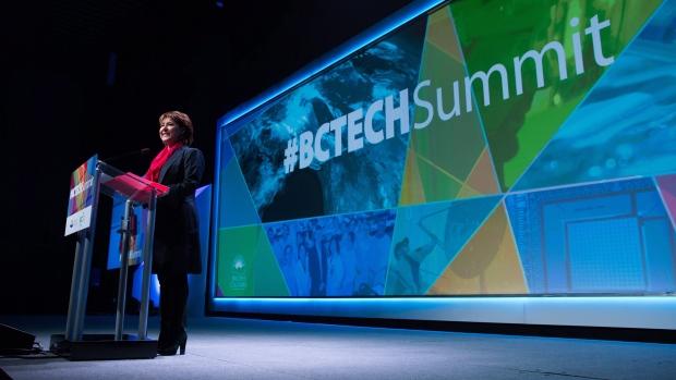 B.C. Christy Clark at B.C. Tech Summit