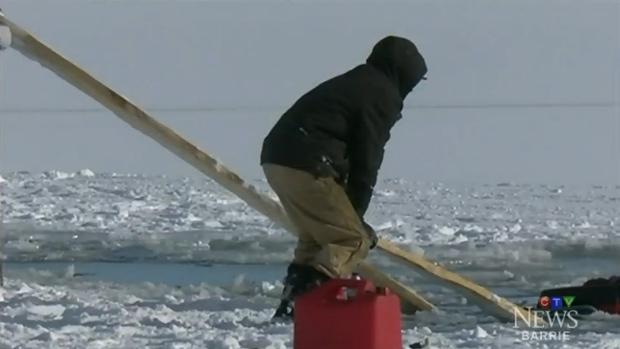 Man, 76, dead as ATV falls through ice on Brome Lake - CTV News