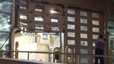 Royal Alexandra Hospital garage doors