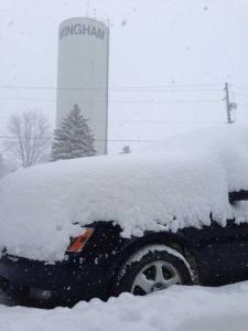 Wingham snow