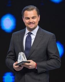 U.S. actor Leonardo DiCaprio
