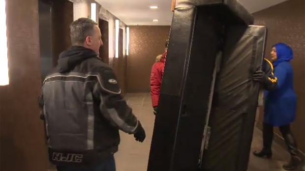 The Place Louis Riel Suite Hotel is donating 34 suites-worth of furniture and household supplies to Syrian refugees.