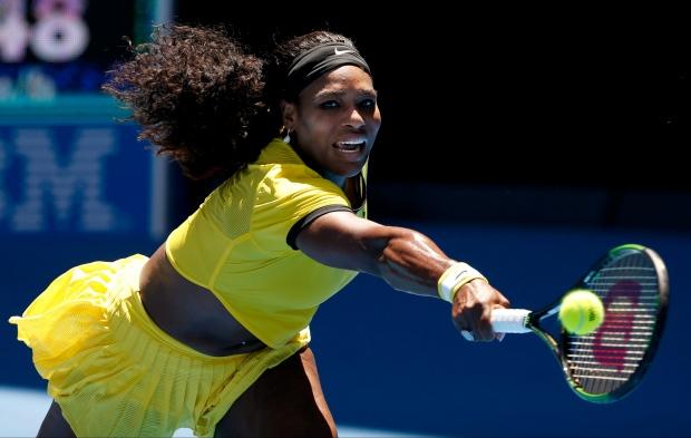 Serena Williams: I didn't feel knee at all - Serena Williams