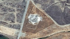 St. Elijah's Monastery destroyed