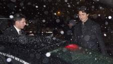 Justin Trudeau in Zurich