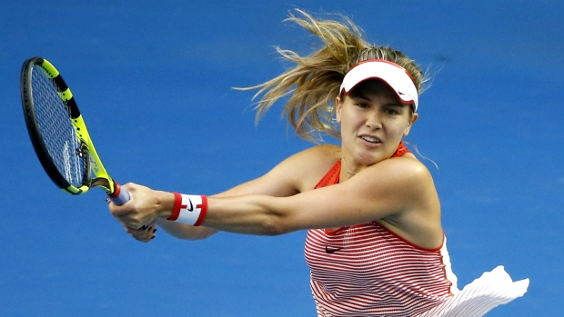 Eugenie Bouchard eliminated in Aussie Open