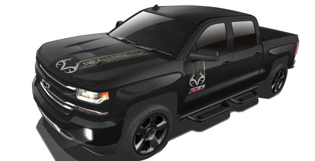 Chevrolet Silverado Realtree truck