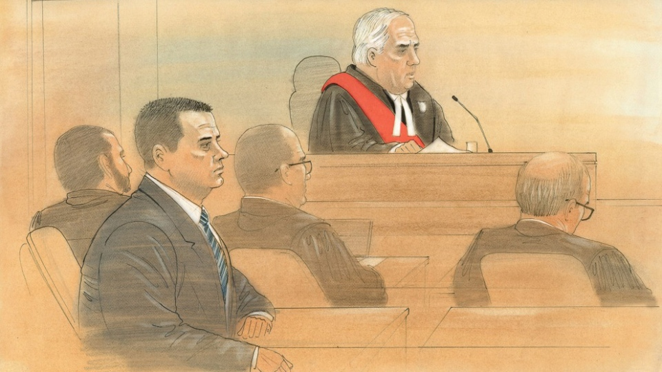 Judge Edward Then speaks to the jury at a Toronto courthouse on Tuesday, Jan. 19, 2016. (John Mantha / CTV Toronto)