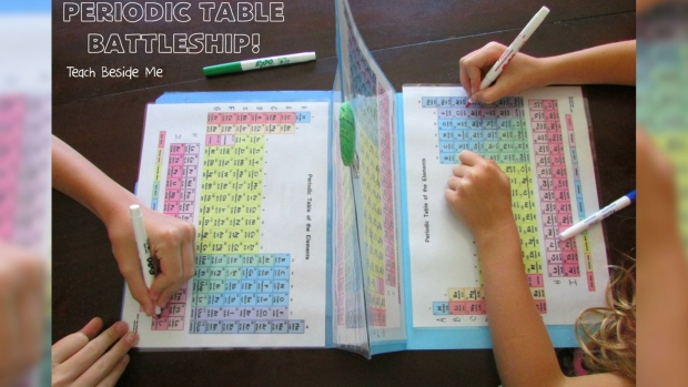 How to turn the periodic table of elements into a game of battleship to play urtaz Gallery