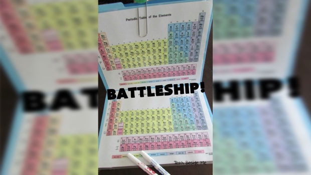 How to turn the periodic table of elements into a game of battleship the game urtaz Image collections