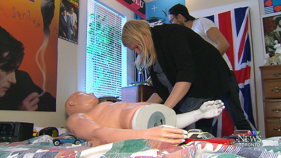 CTV Toronto: Ferris Bueller's bedroom