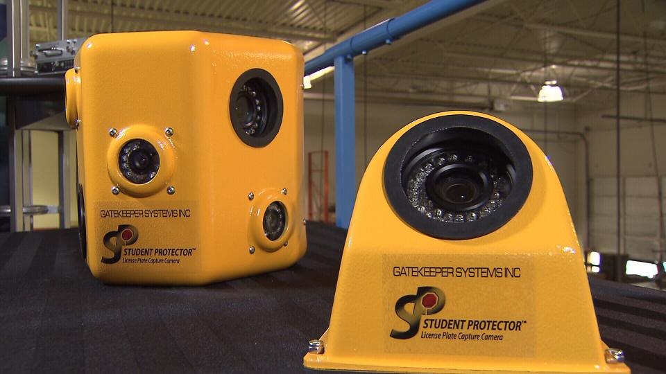 High definition school bus cameras
