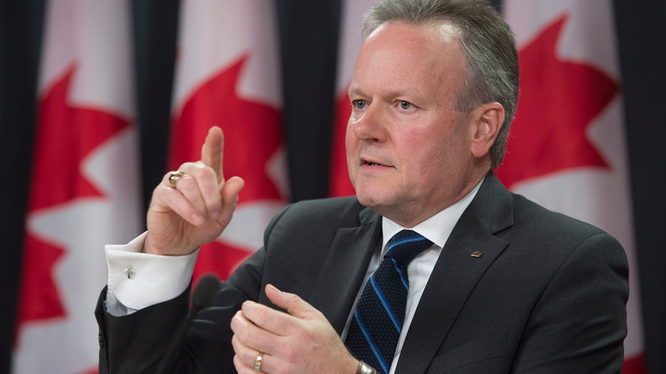 Bank of Canada Governor Stephen Poloz speaks with the media during a news conference, in Ottawa, Wednesday, Jan. 20, 2016. (Adrian Wyld / THE CANADIAN PRESS)