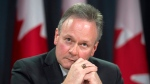 Bank of Canada Governor Stephen Poloz speaks with the media during a news conference in Ottawa on Jan. 20, 2016. (Adrian Wyld / THE CANADIAN PRESS).