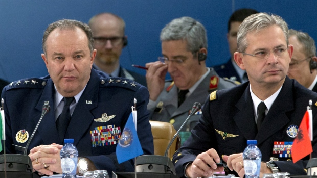 NATO brass meets to talk strategy