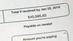 Consumer Alert: $45,000 phone bill