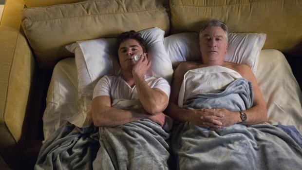 Zac Efron, left, as Jason Kelly and Robert De Niro as Dick Kelly in the film, 'Dirty Grandpa.' (Bob Mahoney / Lionsgate)